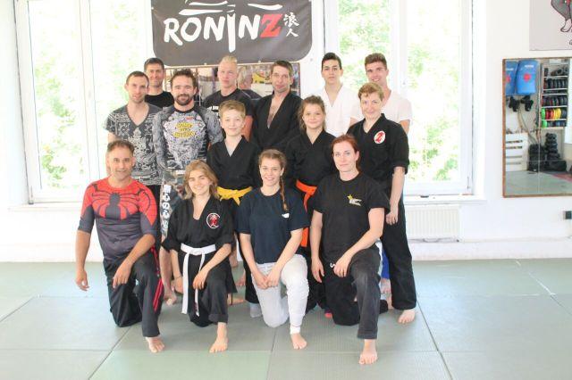 Ju-Jutsu-Do Sommerseminar 2017 T2 mit Andy Güttner und Hubert Hérenger 15.-16.07.2017 in RoninZ Kampfkunstschule