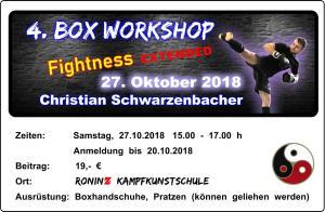 Box Workshop Fightness extended