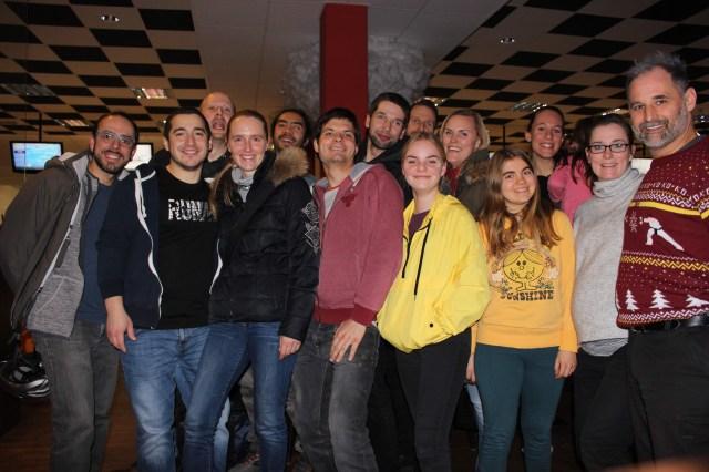 RoninZ X-Mas Bowling im Dezember.