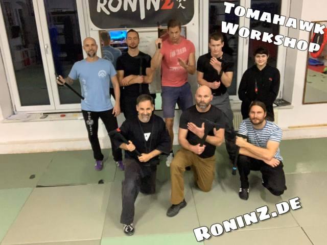 Tomahawk Workshop am 30.11.2019