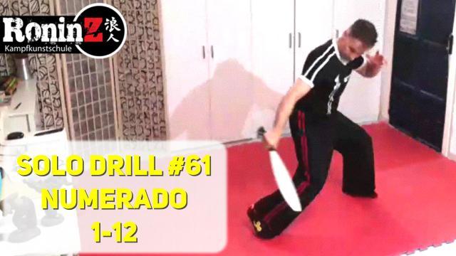Solo Drill 61 Numerado 1-12