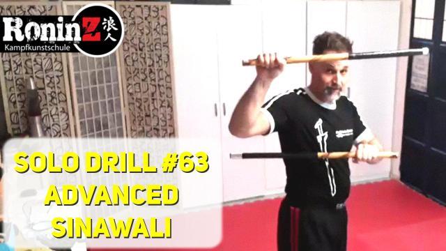 Solo Drill 63 Advanced Sinawali