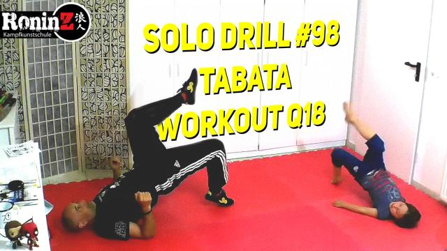 Solo Drill 98 Tabata Workout Q18