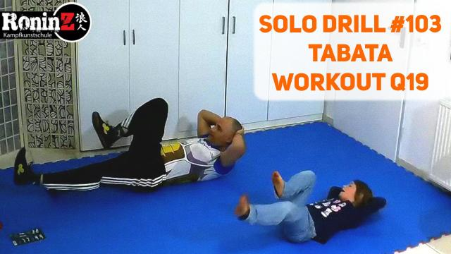 Solo Drill 103 Tabata Workout Q19