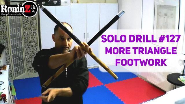 Solo Drill 127 more Triangle Footwork
