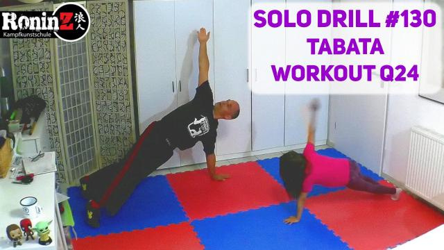 Solo Drill 130 Tabata Workout Q24