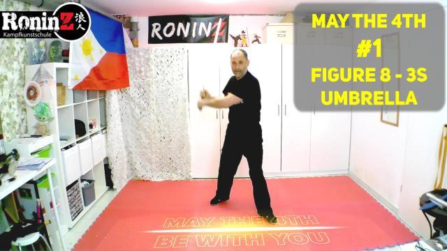 May the 4th #1 Figure 8 - 3s - Umbrella