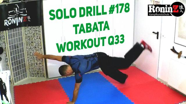 Solo Drill 178 Tabata Workout Q33