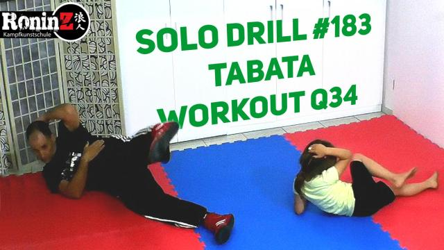 Solo Drill 183 Tabata Workout Q34