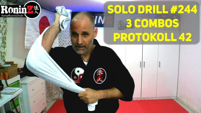 Solo Drill 244 3 Combos Protokoll 42
