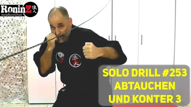 Solo Drill 253 Abtauchen und Konter 3