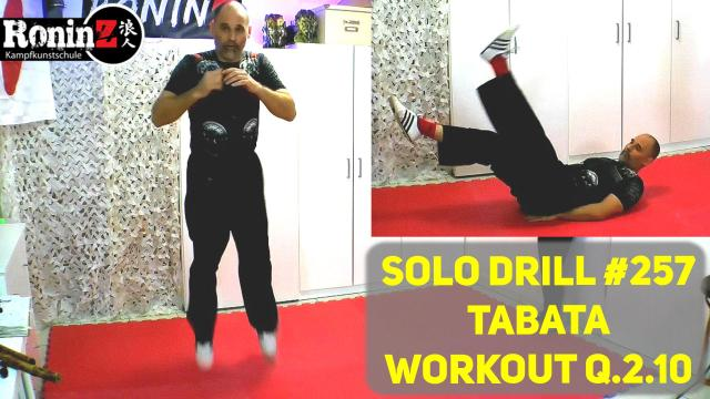Solo Drill 257 Tabata Workout Q.2.10