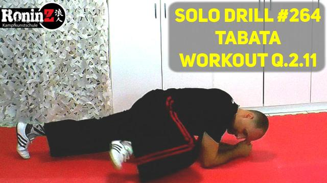 Solo Drill 264 Tabata Workout Q.2.11