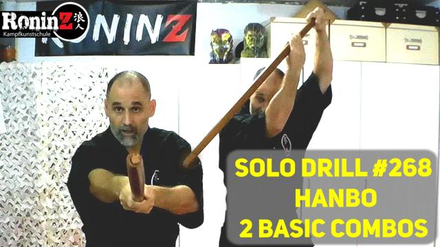 Solo Drill 268 Hanbo 2 Basic Combos 2
