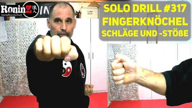 Solo Drill 317 Fingerknöchel Schläge und -stöße