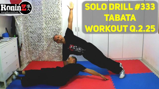 Solo Drill 333 Tabata Workout Q.2.25