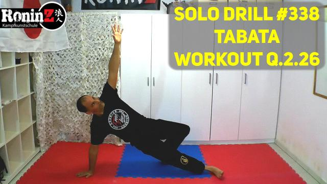 Solo Drill 338 Tabata Workout Q.2.26