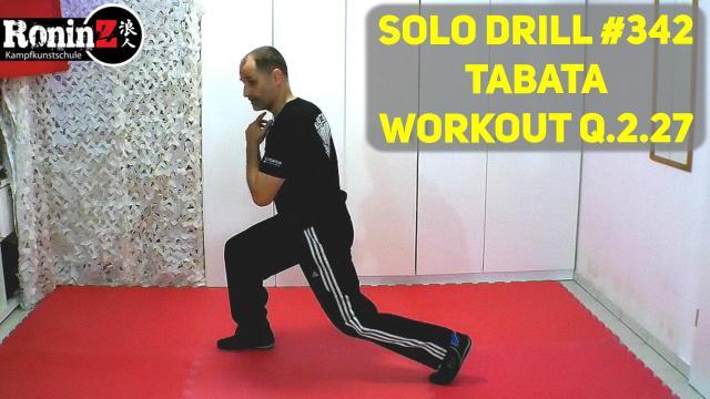 Solo Drill 342 Tabata