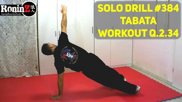 Solo Drill 384 Tabata Workout Q.2.34