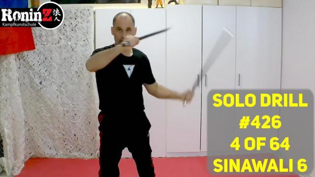 Solo Drill #426 4 of 64 Sinawali 6