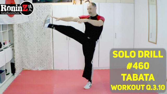 Solo Drill #460 Tabata Workout Q.3.10