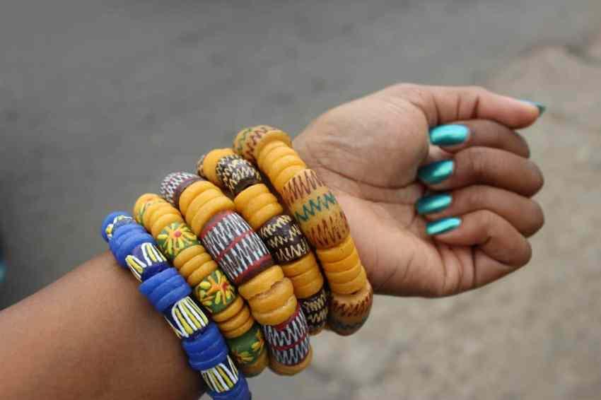 Image result for Bead ghana bracelet