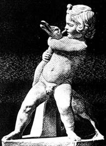 Боэф. Мальчик с гусем