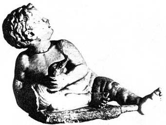 Мальчик с птицей. II в. до н.э. Эрмитаж