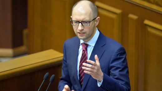 Ukraine Prime Minister, Arseny Yatsenyuk Resigns