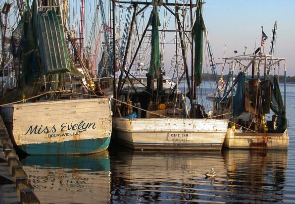 Miss Evelyn, Shrimp Boat