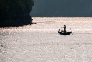 Fishermen of Halong Bay, Vietnam