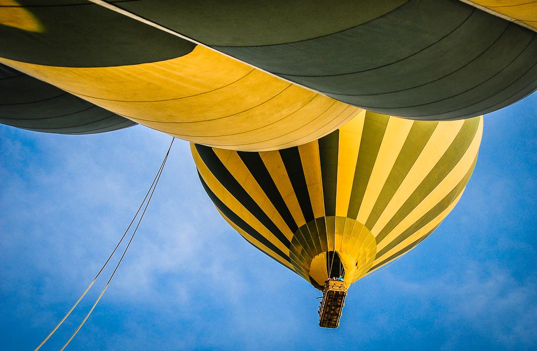 Balloning Over the Serengeti