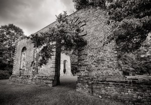 Biggin Church Ruins photo