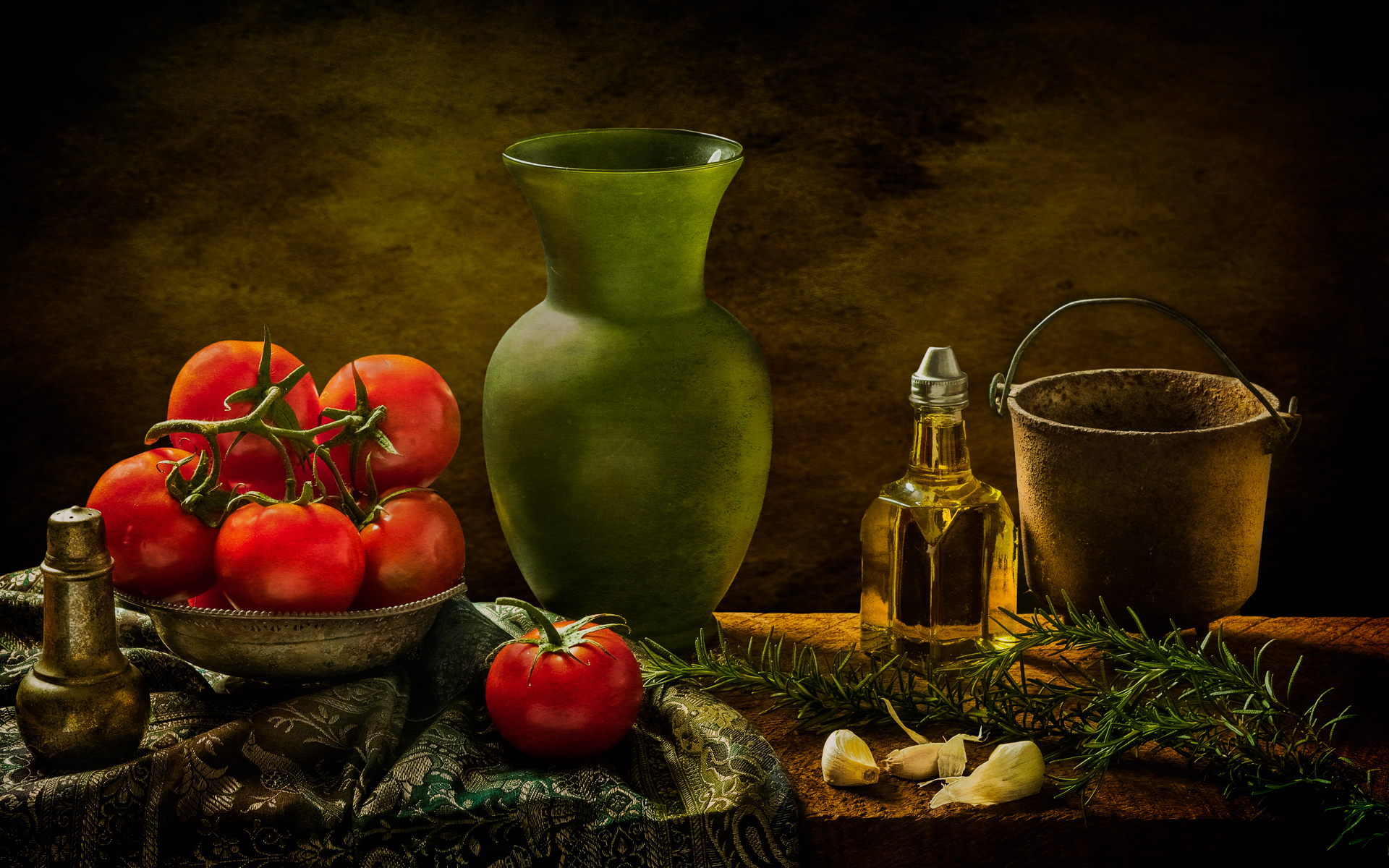 Still Life with Tomatoes - Still Life Photography
