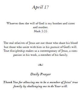 April 17 - Wisdom of the Carpenter