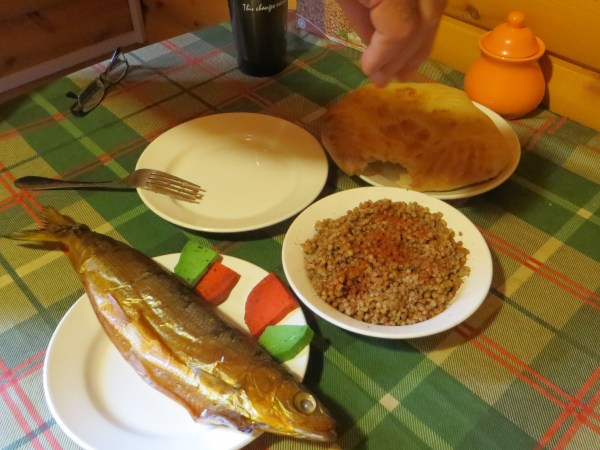 Getting really, really, really, really, really sick of smoked fish and buckwheat