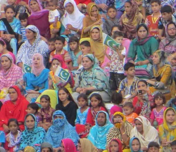 Pakistani crowd