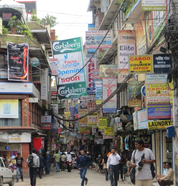 Thamel District in Kathmandu