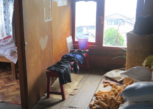 Our hotel room in Ulleri
