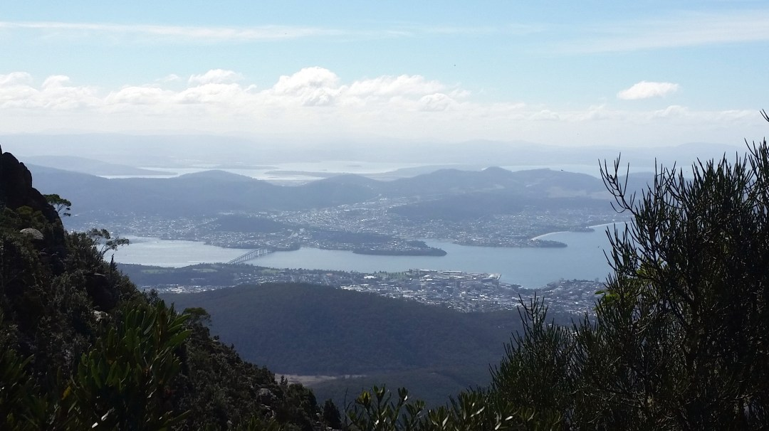 blog Hobart from Mt W