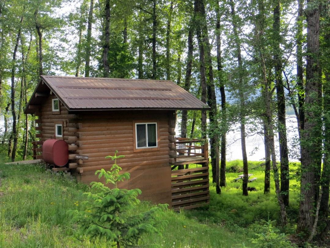 ferry blog cabin