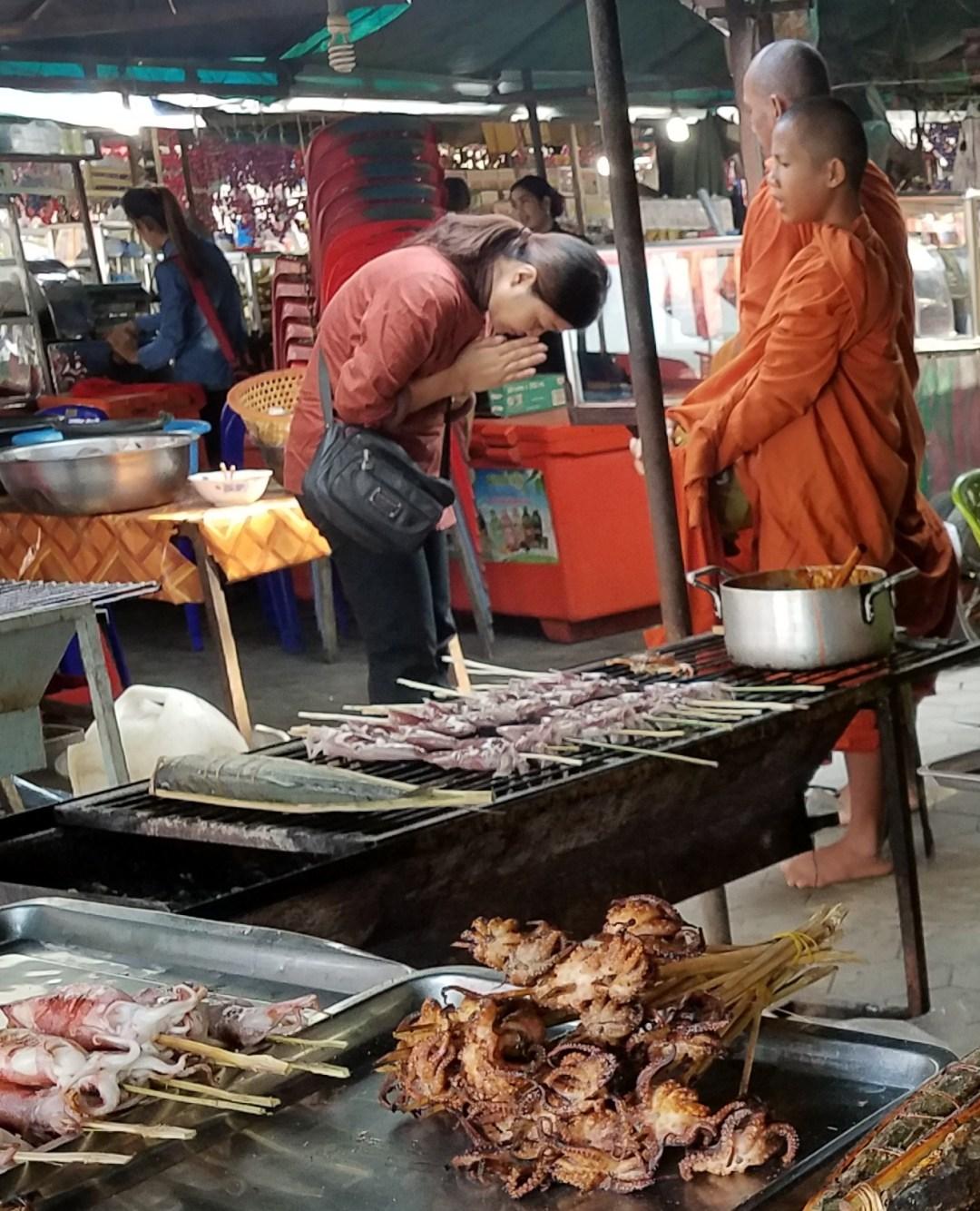 Kep Crab Market blessing