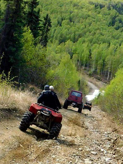 Wheeling Feeling in North Pole, Alaska