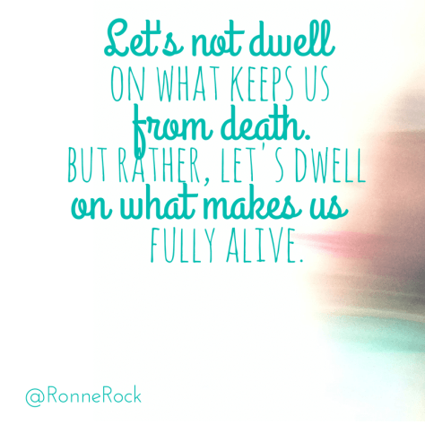 Let's not dwell