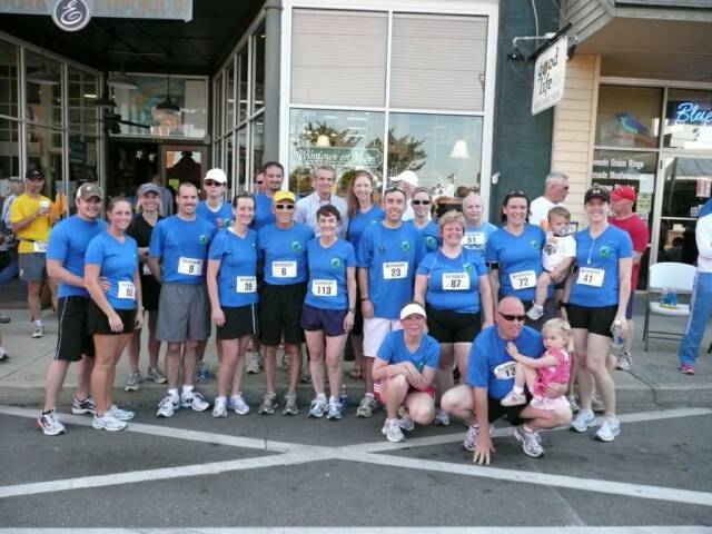 Mt Airy Road Runners 1st Run Group pic