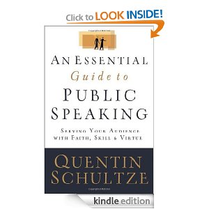 Book Notes: An Essential Guide to Public Speaking by Quentin Schultze