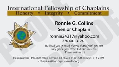 Chaplain Card