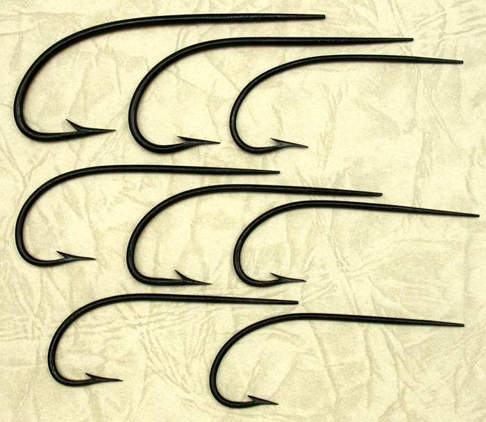 Some unidentified hooks. Gift from Davie McPhail.