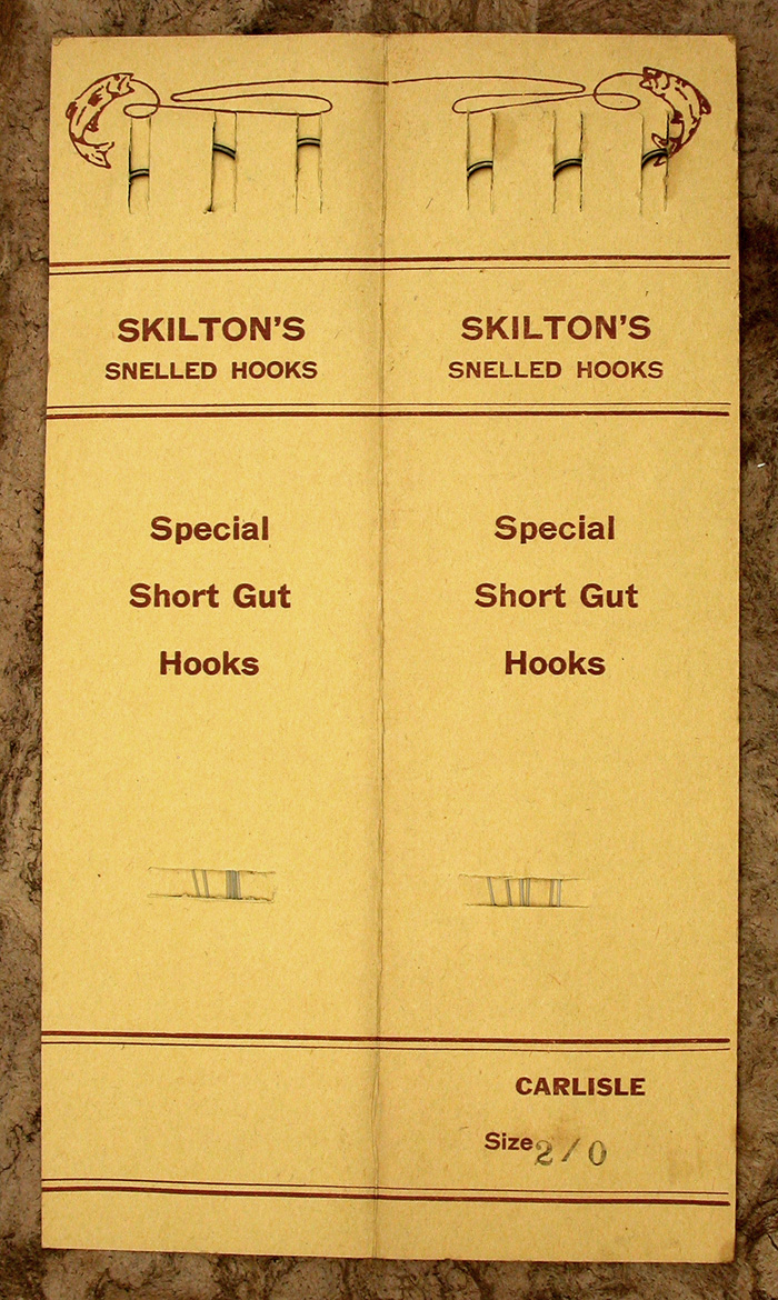 54a.  Skilton & Sons, special short gut (double), 2.0, Carlisle.