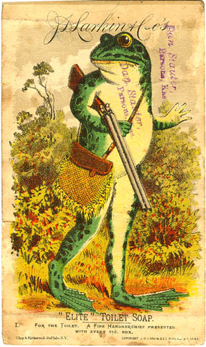 Victorian trade card.